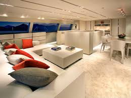 View in gallery You almost can't tell that this is an yacht interior