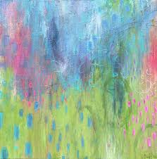 Spring Promises Painting by Cheryl Rhodes