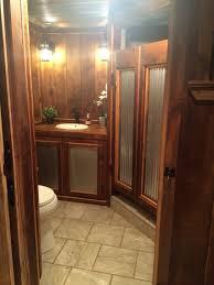 shower glass coating awesome barnwood corrugated metal saloon shower doors ba os