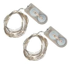 Mini String Lights Battery Operated Lumabase 40 Light Mini Battery Operated Waterproof String