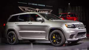 2018 jeep grand cherokee. exellent cherokee the hellcatpowered 2018 jeep trackhawk is quicker 060 than alfa giulia throughout jeep grand cherokee