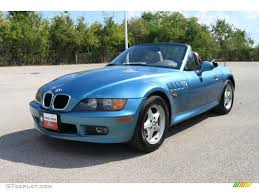 atlanta blue metallic 1996 bmw z3 1 9 roadster exterior photo atlanta blue metallic 1996