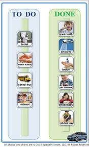 90 Photos Pictures 2 Visual Schedule Task Chart Board For
