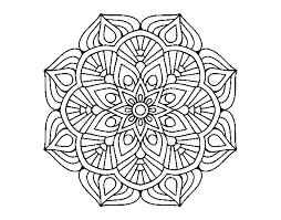 Disegno Di Un Mandala Di Fiori Orientali Da Colorare Acolorecom