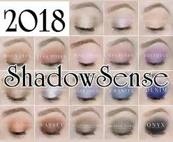 Shadowsense Color Chart 2018 New Shadow Sense Eyeshadow By Lipsesne Senegence 6 88