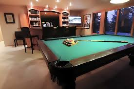 pool bar furniture. spacious recreation room with pool table and wet bar furniture a