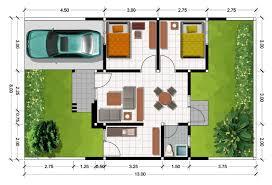 15+ Gambar Denah Rumah 12X10 PNG