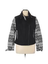 Details About New York Yoki Collection Women Black Coat 1 X Plus