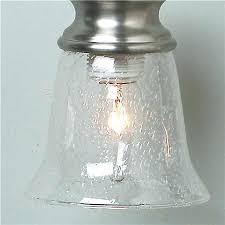 lighting globes glass. Clear Glass Pendant Lights 5 Seeded Bath Shade Chandelier Globes Lighting