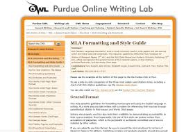 Mla Research Paper Citation Website