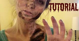 fairest s favorites costume zombie makeup tutorial diy last minute makeup hair nails oh my costumes