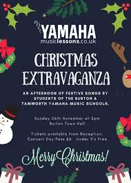 Christmas Concert Poster Yamaha Music Lessons Christmas Extravaganza 2017 Yamaha Music