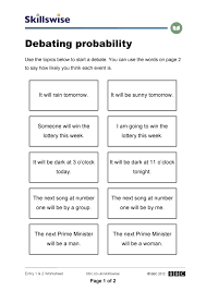 Basic Probability Worksheet Free Worksheets Library | Download and ...