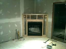 gas fireplace framing framing a gas fireplace framing corner gas fireplace frame plans stand electric framing