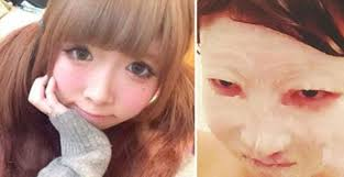 anese guy left shocked when he sees his cute friend without makeup for the first time