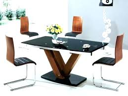 wood and glass dining tables glass dining table designs wood glass dining tables popular glass and