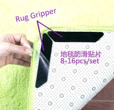 rug carpet pad tape brown gripper for carpets grip 2 x rolls of
