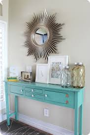 how to decorate entryway table. How To Decorate Entryway Table T