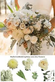 how to diy real wedding flowers stephany s friend olivia created this beautiful rustic bridal bouquet