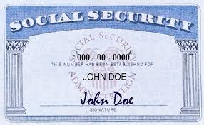 social security number colorado college
