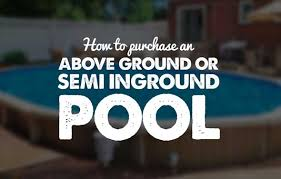 rectangle above ground pool sizes. How To Purchase An Above Ground Pool Or Semi Inground Rectangle Sizes