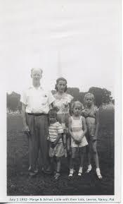 Albert and Ruby Tucker Family