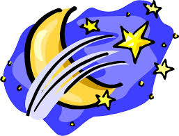 Image result for moon and stars clipart