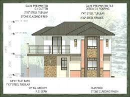 modern bungalow house designs and floor plans plan of in new small philippines