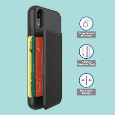 Credit card fell in emergency brake. Onn Slim Card Case For Iphone Xr Walmart Com Walmart Com