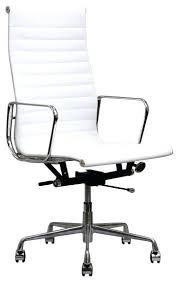 white leather executive chair. Office White Chair Leather Crafts Home For Contemporary Executive F