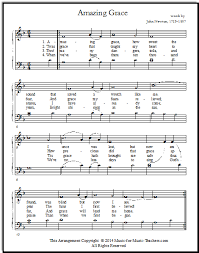 Music, in addition, with suggestions for teachers, and stories and tips. Free Printable Music Sheets Amazing Grace Solos And Duet For Piano