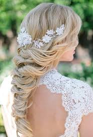 gorgeous long braid beach wedding hairstyles