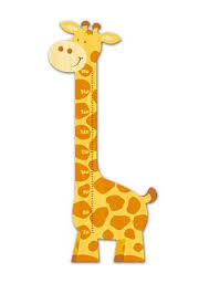 Giraffe Chart Weizenkorn Wooden Height Chart Giraffe 35 00 Wooden