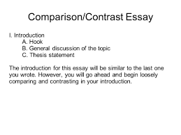 writing portfolio mr butner ppt video online 26 comparison contrast essay