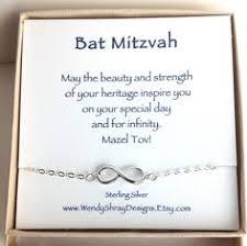 bat bat mitzvah gift infinity charm bracelet sideways 925 sterling silver figure 8 hanukkah minimalist jewelry b102