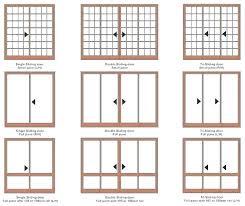 average sliding door width standard french door width standard sliding