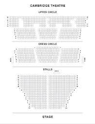 Phoenix Theater London Seating Chart Cambridge Theatre London History Matilda Maps Seat Plans