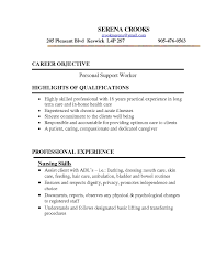 Ideas Collection Cover Letter For Support Worker Job Application Psw