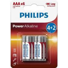 <b>Батарейка Philips</b> Power Alkaline (1.5V, <b>AAA</b>, 6 шт) в интернет ...