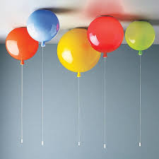 kids bedroom lighting. a unique balloon light suitable for ceiling useavailable in eight glossy glass colours kids bedroom lighting