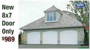 new garage door special limited time only
