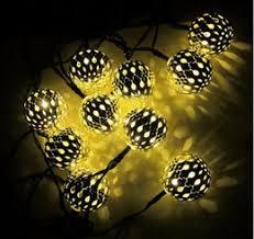 spherical lighting. solar led decorative light metal hollow spherical festival 20 string of christmas lights lighting