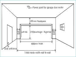 double garage door opener exterior doors size double garage doors width nice on exterior inside door double garage door