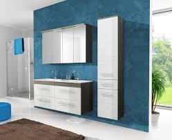 Badmöbel Set Cosmo 120 Cm Weiss Badezimmer Mit Waschbecken Und 2