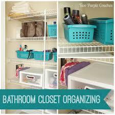 bathroom closet storage organizing via turplecouches com