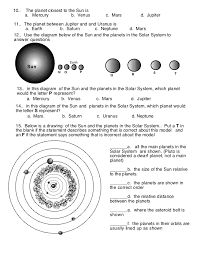 Order Of Planets Worksheet Free Worksheets Library | Download and ...