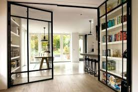 metal glass doors steel for inspiration ideas partition duel homes door frames metal glass doors