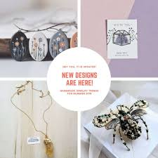 handmade jewelry trends summer 2018