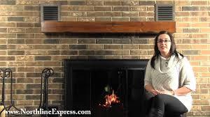 installing the pearl mantels 60 shenandoah distressed medium oak fireplace shelf you