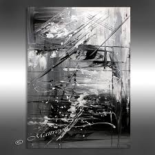 oil painting black white abstract art 40 artwork on black and grey abstract art